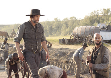 <b>Anson Mount and Common are the stars of &quot;Hell on Wheels.&quot;</b> <br>Reminder Publications submitted photo