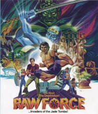 DVD_RawForce.jpg Obscure '80s drive-in flick 'Raw Force' restored on Blu-ray