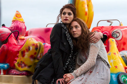 """<b>Gemma Arterton and Saoirse Ronan star in the vampire film """"Byzantium,"""" now available on DVD.</b> <br>Reminder Publications submitted photo"""