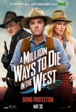 dvd.jpg 'A Million Ways' still topped by 'Blazing Saddles in Western comedies