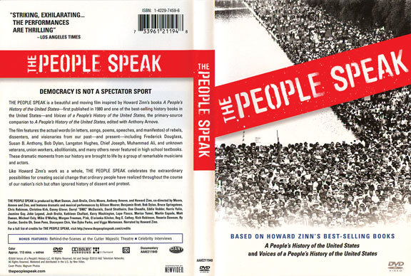 Author and actors give history a chance to speak dvdthe-prople-speak.jpg