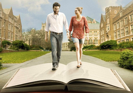 <b>Josh Radnor and Elizabeth Olsen in &quot;Liberal Arts.&quot;</b> <br>Reminder Publications submitted photo