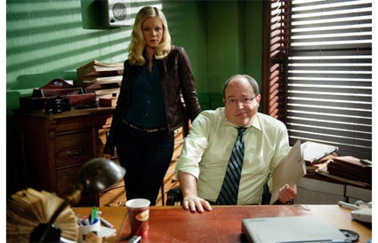 <strong>Brent Butt and Amy Smart in the film &quot;No Clue.&quot;</strong> <br>Reminder Publications submitted photo