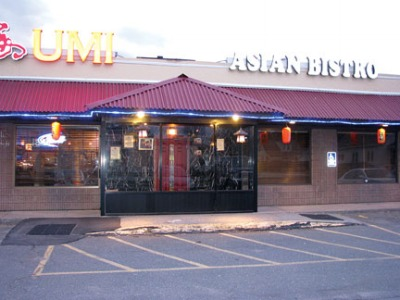 Umi offers traditional cuisine, added delights umi.jpg