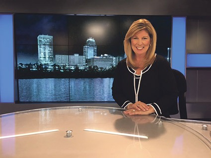 Beth Ward Makes Return To Local TV News