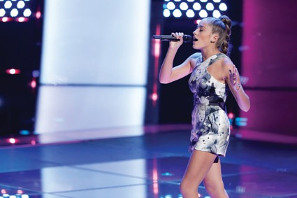 Cartelli sings her way to a spot on 'The Voice'